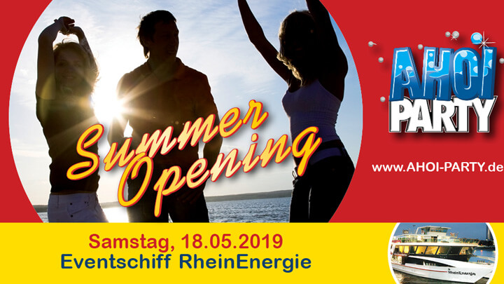 "AHOI-Party ""Summer Opening"" 2019"