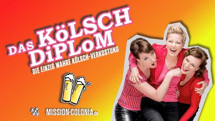 Das Kölsch-Diplom! Comedy-Show & Verkostung Von 11 Kölsch