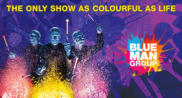 Blue Man Group BB Promotion 2017