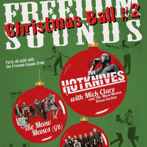 Freedom Sounds Christmas Ball
