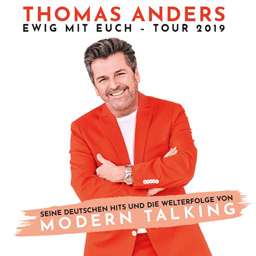 THOMAS ANDERS - Ewig mit euch Tour 2019